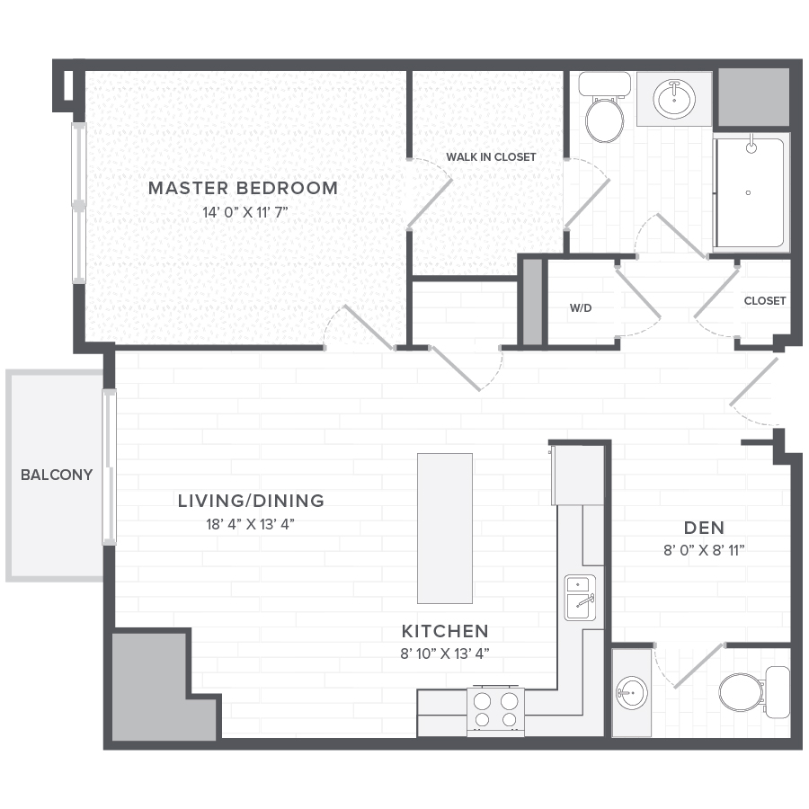1 Bed 1 Bath Apartments: Rent One Bedroom Apartment