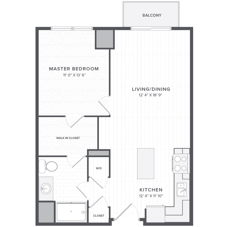 Rent One Bedroom Apartment