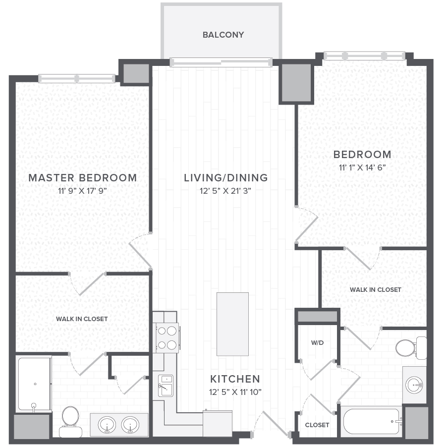 Rent Two Bedroom Apartments