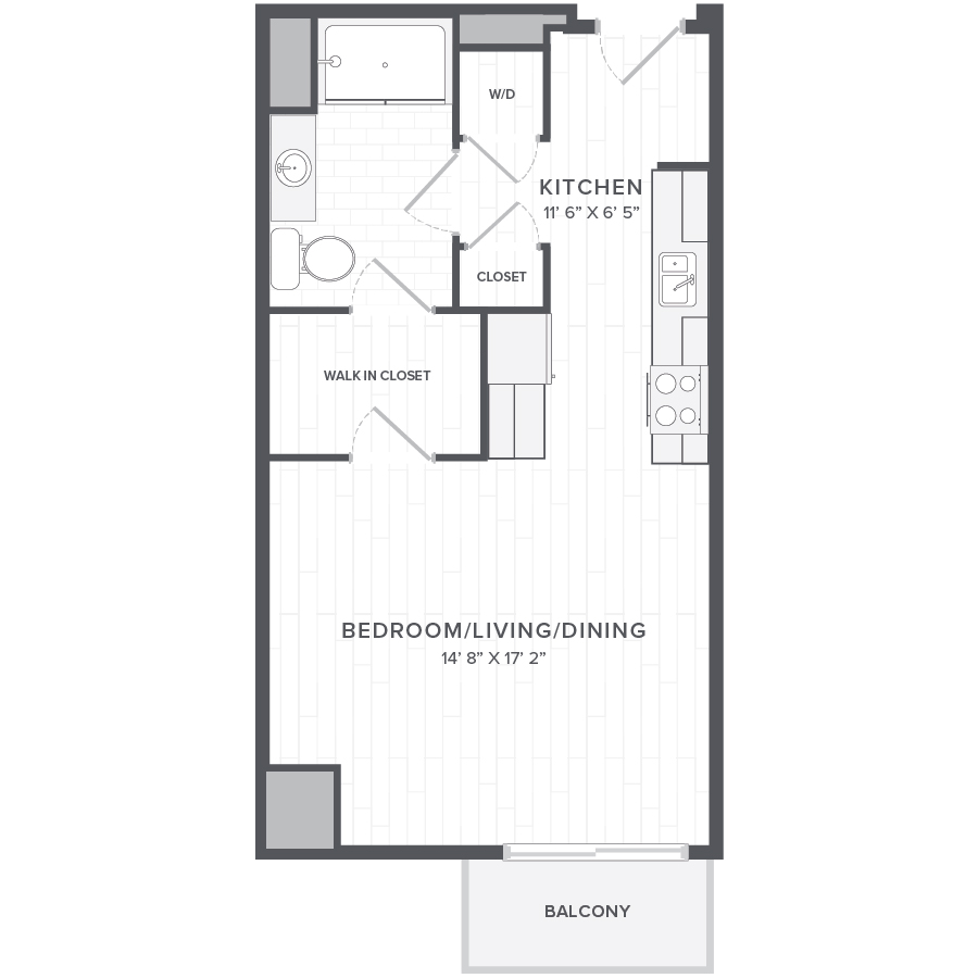Rent Studio Apartments Live At One In Luxury